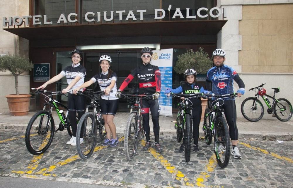 costa blanca jornadas nico terol ciclistas en bici y hotel