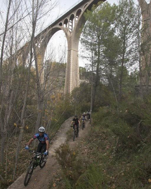 costa blanca jornadas nico terol ciclistas por acueductos
