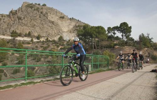 costa blanca jornadas nico terol grupo de ciclistas