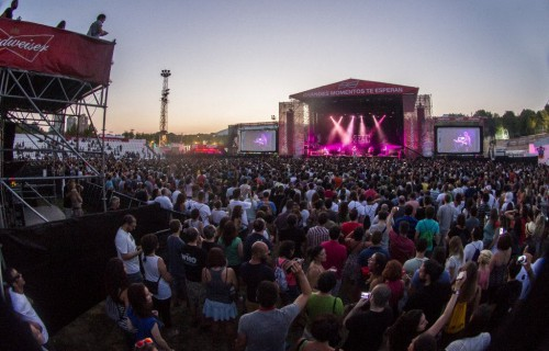 Low Festival atardecer