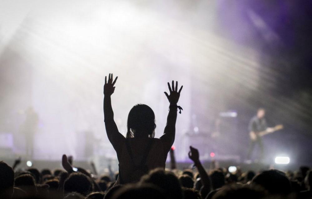 costa blanca low festival espectadora cantando