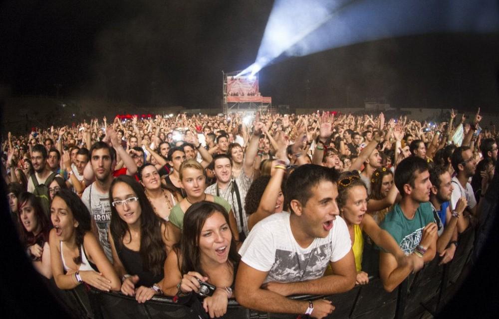 costa blanca low festival espectadores primera fila