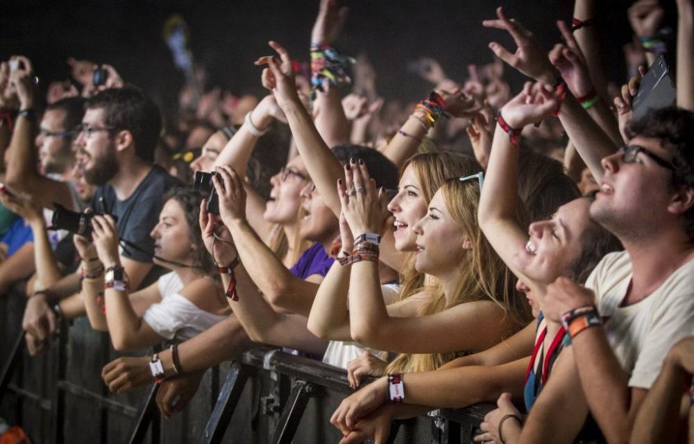costa blanca low festival primera fila de espectadores