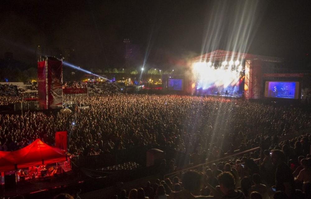 costa blanca low festival vista global de los espectadores
