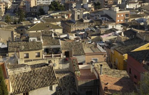 COSTA BLANCA SIERRA DE MAIGMÓ Localidad de CASTALLA Vista desde el castillo