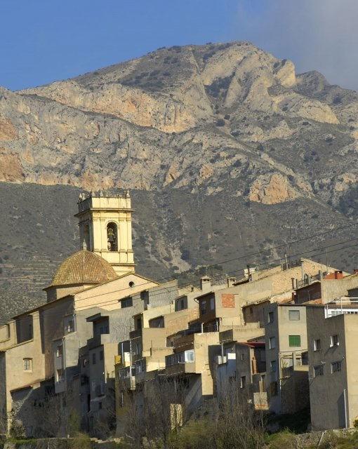 costa blanca maigmo tibi ciudad y montana