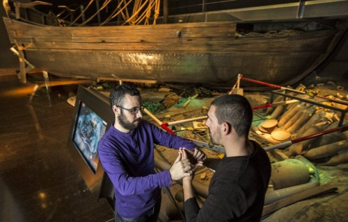 COSTA BLANCA ALICANTE Museo MARQ barco del museo