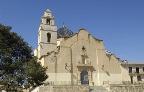 COSTA BLANCA VINALOPÓ MEDIO MONFORTE DEL CID Iglesia de Nuestra Señora de las Nieves Siglo XIII