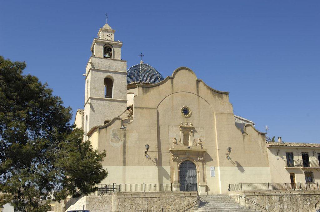 Costa blanca vinalop medio monforte del cid iglesia de - Casas prefabricadas monforte del cid ...
