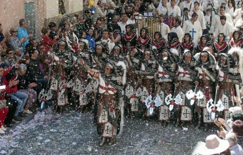 COSTA BLANCA MOROS Y CRISTIANOS desfile de moros