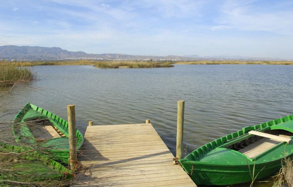costa blanca muelle del estanque