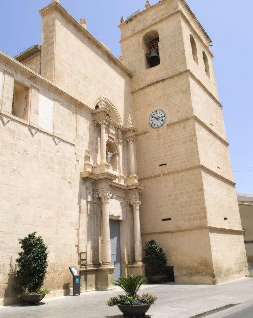 costa blanca mutxamiel fachada principal de la iglesia
