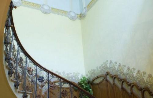costa blanca novelda escaleras casa modernista