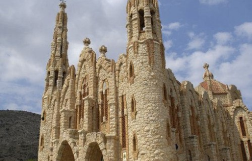 COSTA BLANCA NOVELDA Santuario de Santa María Magdalena Modernismo