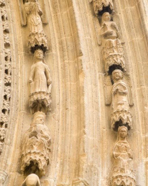 costa blanca orihuela catedral detalle de la puerta lateral