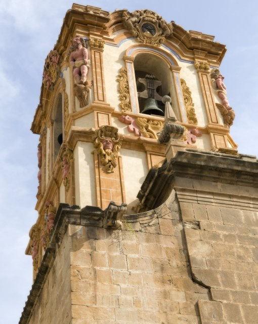 costa blanca orihuela colegio santo domingo campanas en torre