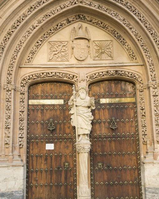 costa blanca orihuela iglesia de santiago increible puerta principal