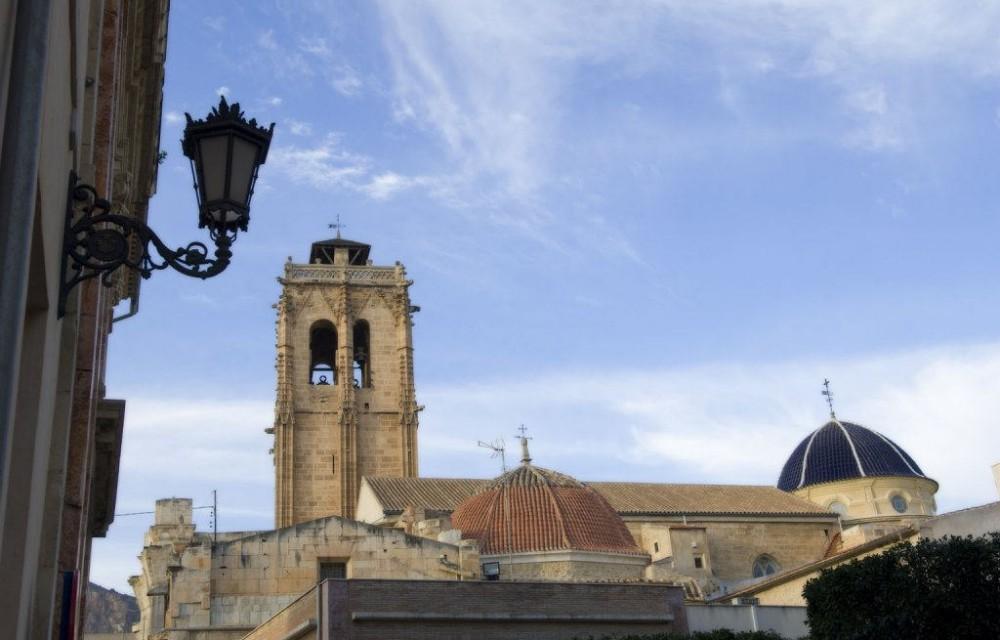 costa blanca orihuela iglesia santa justa y rufina campanario y cupula