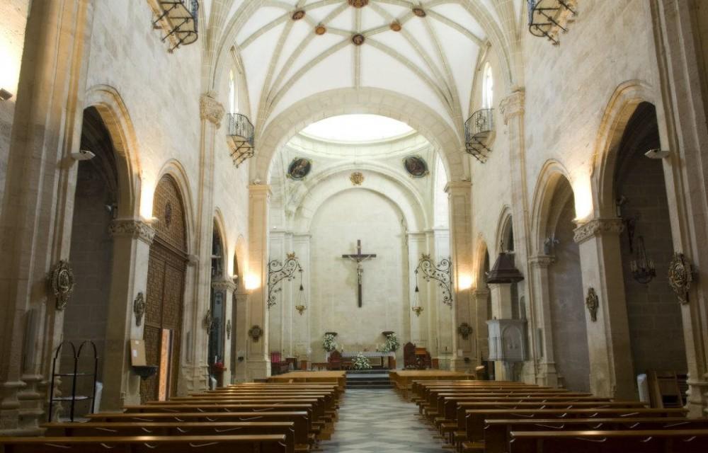 costa blanca orihuela iglesia santa justa y rufina interior capilla