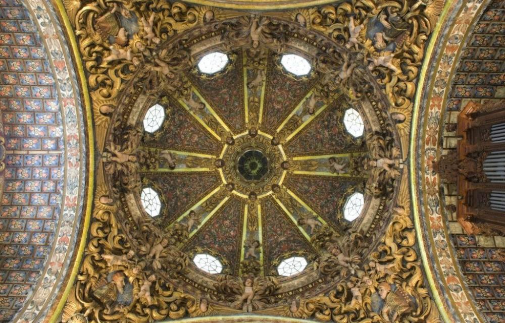 costa blanca orihuela iglesia santo domingo cupula mosaicos