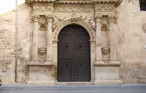 COSTA BLANCA LA VEGA BAJA ORIHUELA Catedral Puerta lateral