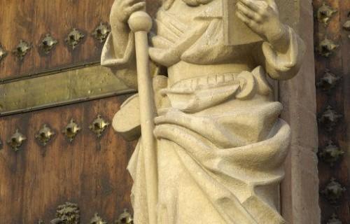 COSTA BLANCA LA VEGA BAJA ORIHUELA Iglesia de Santiago Detalle de la fachada