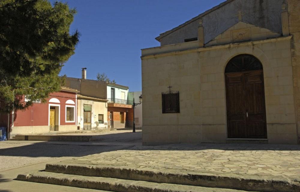 costa blanca orito plaza famosa del santuario