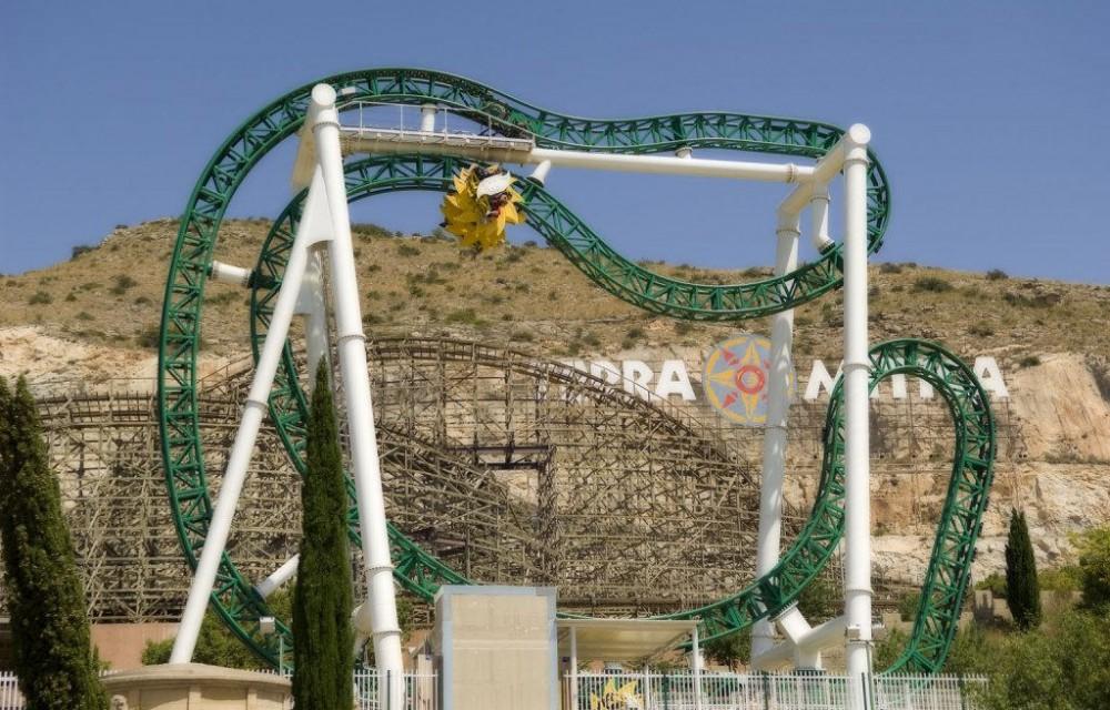 costa blanca parque atracciones benidorm atraccion verde