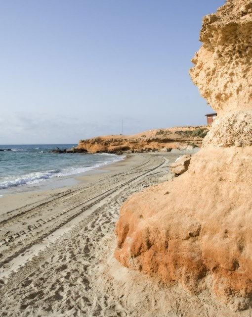 costa blanca pilar de la horadada cala rocamar dia soleado