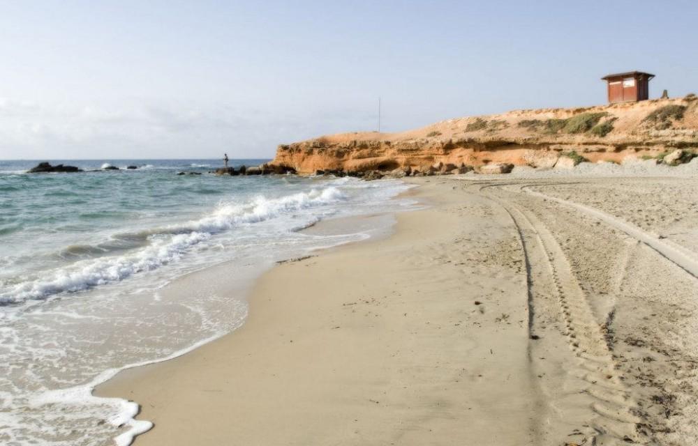 costa blanca pilar de la horadada calas rocamar orilla y mar