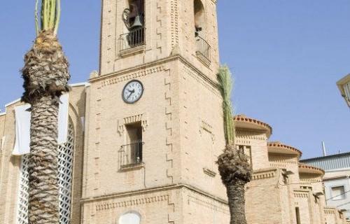 COSTA BLANCA LA VEGA BAJA PILAR DE LA HORADADA Iglesia de la localidad