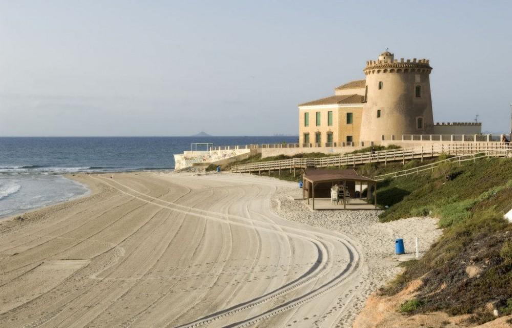 costa blanca pilar de la horadada playa del conde preciosa