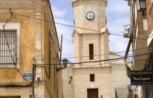 COSTA BLANCA EL VINALOPO MEDIO PINOSO Torre del reloj