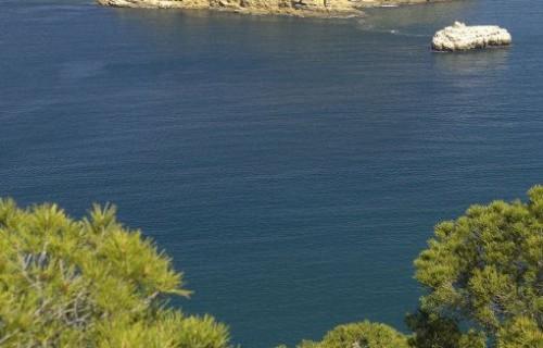 COSTA BLANCA Isla del Portichol desde la Punta de Cap Negre