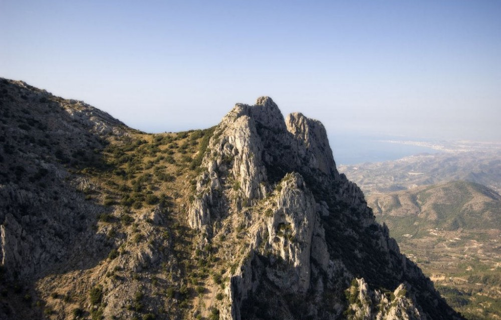 costa blanca puig campana picos de la montana