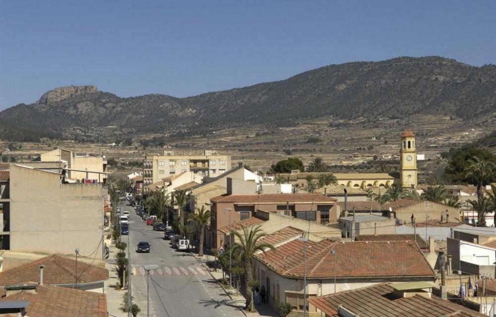 costa blanca romana calle principal del pueblo