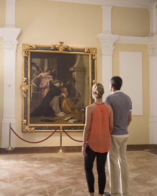 costa blanca sala velazquez orihuela pareja en el museo