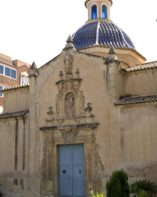 costa blanca san juan alicante iglesia del pueblo fachada