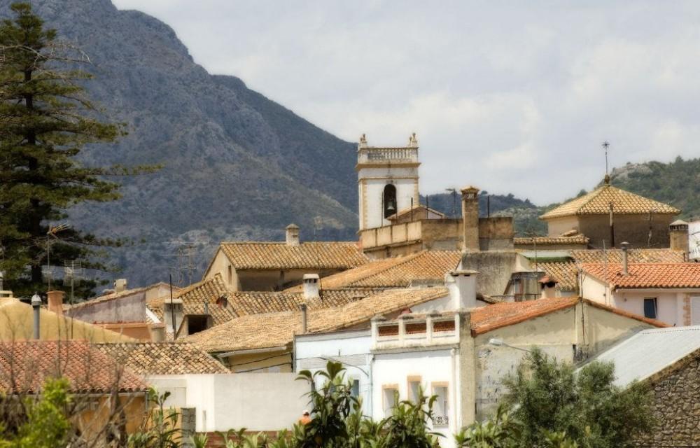 costa blanca sanet y negrals iglesia y tejados