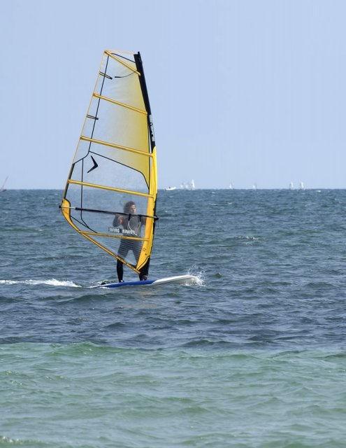costa blanca santa pola windsurf deporte acuatico