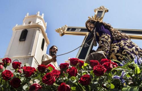 costa blanca semana santa crevillente cristo procesion soleada