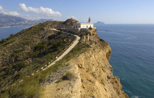 COSTA BLANCA Parque Natural SIERRA HELADA (Serra Gelada) Faro de L´Albir
