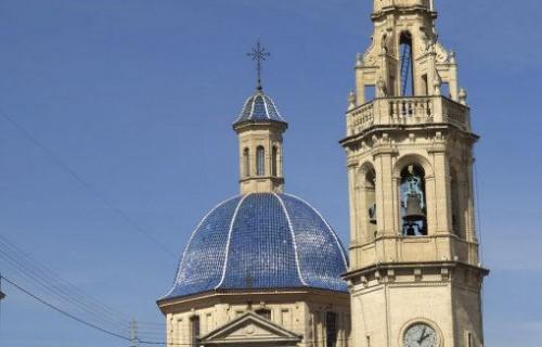 COSTA BLANCA SIERRA DE MARIOLA ALCOY Iglesia de Santa María