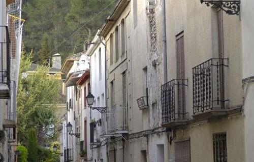 COSTA BLANCA SIERRA DE MARIOLA Localidad de ALFAFARA Calle