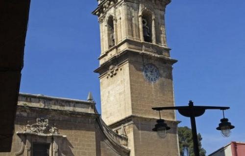 COSTA BLANCA SIERRA DE MARIOLA COCENTAINA Iglesia de Santa María
