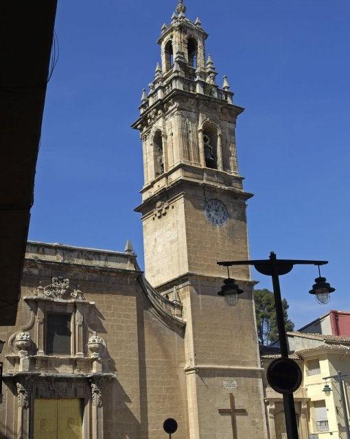 costa blanca sierra mariola cocentaina iglesia santa maria bonita