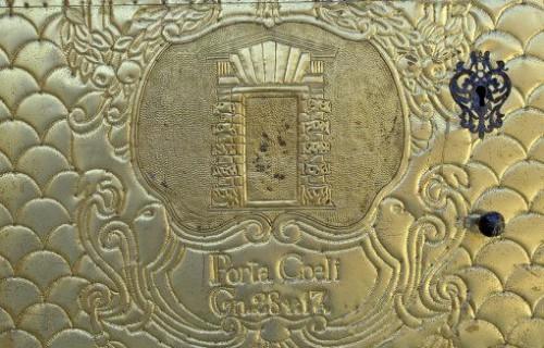 COSTA BLANCA SIERRA DE MARIOLA COCENTAINA Puerta de la Iglesia de Santa María