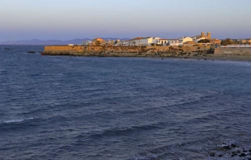 costa blanca tabarca atardecer en el mar