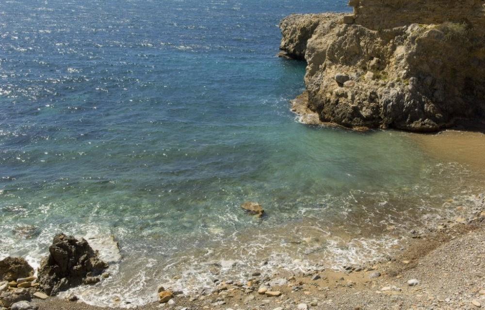 costa blanca tabarca cala en un dia soleado