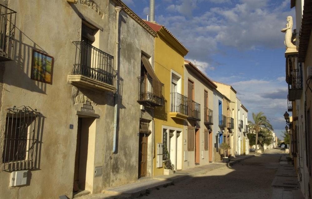 costa blanca tabarca calle vecinal